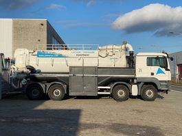 kolkenzuiger vrachtwagen MAN TGS 41.400 8X4 BB Vacuum 2012