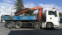 kraanwagen MAN TGS 35.440 8x2 rv 2009 with crane 2009