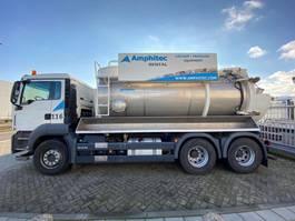 kolkenzuiger vrachtwagen MAN TGS 26.360 6x4 Vacuum 2016