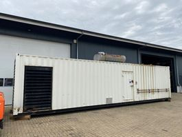 generator MTU 18V 2000 Mecc Alte Spa 1100 kVA Supersilent generatorset in 40 ft container 2006