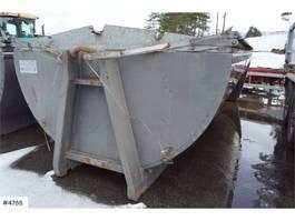 Overig vrachtwagen onderdeel Asfaltbalje med kapell til krokbil
