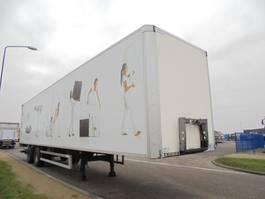 gesloten opbouw oplegger Tracon 2-AXLE BOX / STEERING / 2 T D`HOLLANDIA LIFT / NL 2008