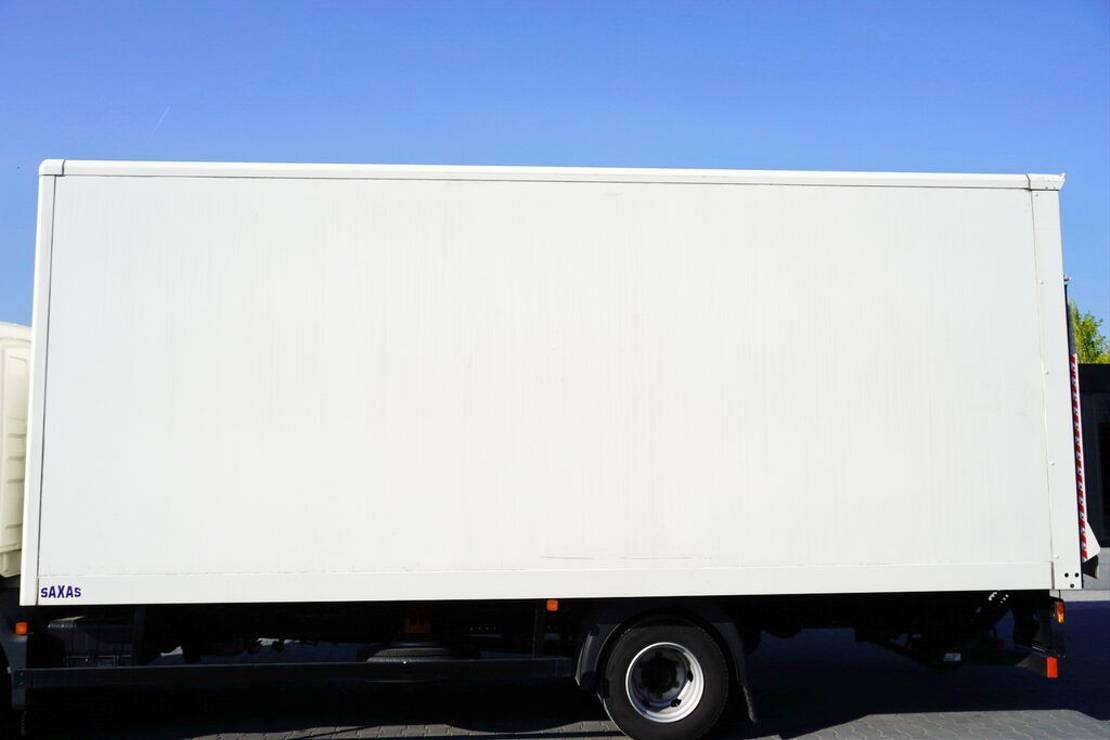 Opbouw vrachtwagen onderdeel Saxas Container body + lift Dhollandia 1.000 kg 2018