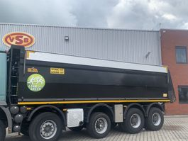 Kipperbak vrachtwagen onderdeel Hyva 3x Hyva kuub 32 m3 kipperbak kipper geïsoleerd asfalt