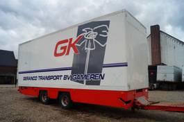 gesloten opbouw aanhanger Trax 2-assige aanhangwagen 2001