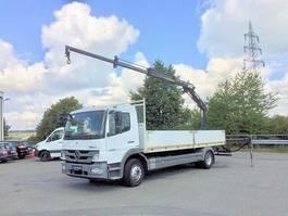 open laadbak vrachtwagen Mercedes-Benz Atego 1226 L,Pr. 6,10m, Klima,AHK, MKG 9m=800 KG