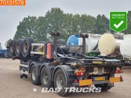 container chassis oplegger Netam-Fruehauf OCCR 39-327 A 3 axles ADR 1x 20 ft 1x30 ft 1999