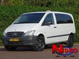 gesloten bestelwagen Mercedes-Benz VITO 4x4 AUTOMAAT 2014