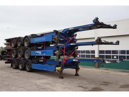 container chassis oplegger Carnehl Container chassis Steel suspension / 40ft. / 30ft. / 20ft. / 2x20ft. / 5... 2007