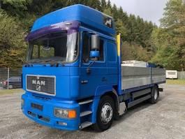 huifzeil vrachtwagen MAN 19.403 ** Klima / Retarder / Schlafkabine ** 1998