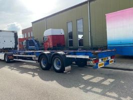 container chassis oplegger Groenewegen CONTAINER CHASSIS 40FT & 2X 20FT BPW HOLLAND TRAILER 2002