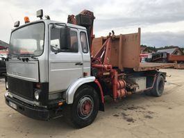 containersysteem vrachtwagen Volvo F7 **19TONS-CRANE+HOOKLIFT-10BOLTS** 1983