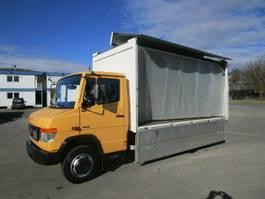 verkoop opbouw vrachtwagen Mercedes-Benz VARIO 816 D Getränkekoffer 4,45 m LBW 1 to.+AHK 2011