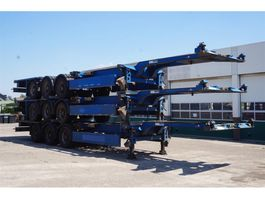 container chassis oplegger Carnehl Container chassis Steel suspension / 40ft. / 30ft. / 20ft. / 2x20ft. / 20m 2007