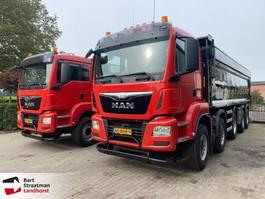 kipper vrachtwagen > 7.5 t MAN TGS 49.440 10x4 EURO 6 2 stuks op voorraad! 2016