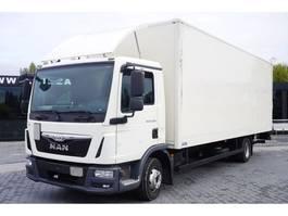 bakwagen vrachtwagen > 7.5 t MAN TGL 12.220 , E6 , 4X2 , container 7m , lift 1500kg 2016