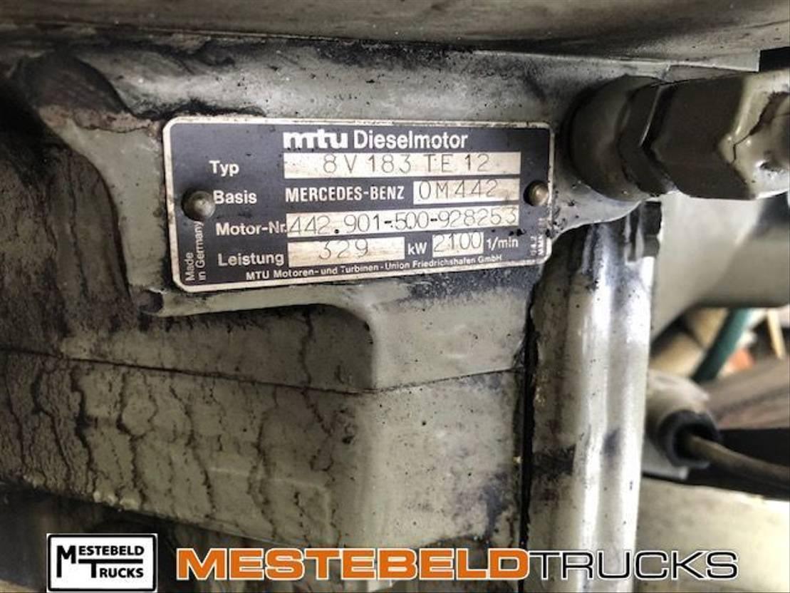 Motor vrachtwagen onderdeel Mercedes-Benz Motor MTU 8V 183 TE 12
