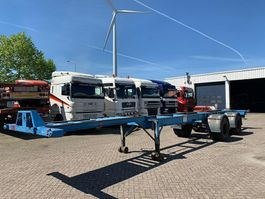 chassis oplegger Trailor container chassis 2 axles full steel 1970