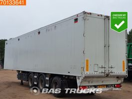 walking floor oplegger Knapen Trailers K20L 3 axles 87m3 6mm Floor Steer- & Liftaxle 2008