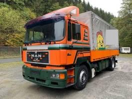 huifzeil vrachtwagen MAN 19.403 ** Klima / Retarder / Schlafkabine ** 1997