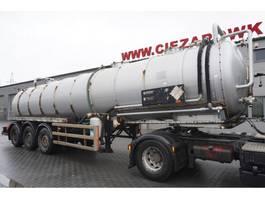 tank aanhanger Whale Tankers S.S VAC , ADR , 30.000L , vacuum pomp 2002