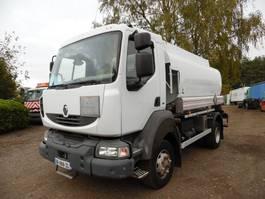tankwagen vrachtwagen Renault Midlum 220 DCI 4x4 tankwagen 2006