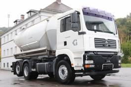 tankwagen vrachtwagen MAN TGA28.430  E4 Zement Silo 18.000l Pumpe 2006