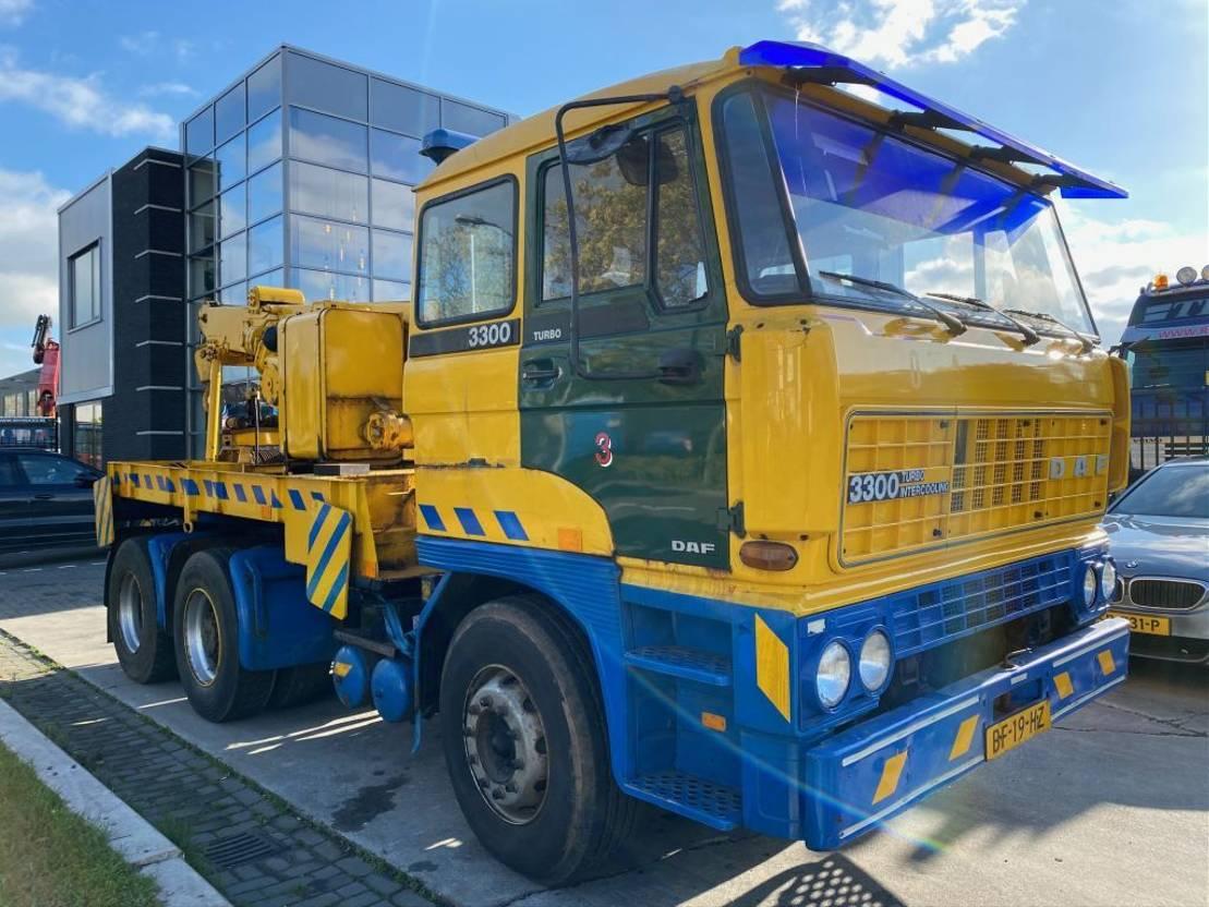 takelwagen-bergingswagen-vrachtwagen DAF 3300 TURBO INTERCOOLING 6X2 - TOW TRUCK 1982