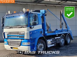 containersysteem vrachtwagen DAF CF 85 360 6X2 Manual Lenkachse Euro 5 2006