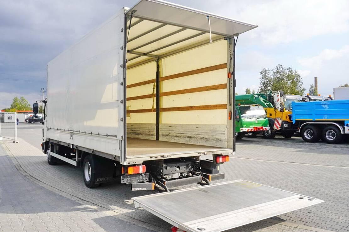 Opbouw vrachtwagen onderdeel Jung E Tarpulin body 6x2,5x2,5m + cargo lift 1000kg - 2 UNITS FOR 2018