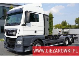 chassis cabine vrachtwagen MAN TGX 26.460 , XLX , E6 , 6x2 , BDF , standard , chassis 7,1m , re 2017