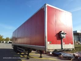 gesloten opbouw oplegger Samro Droge vracht Roldeur Hydr. laadklep 2012