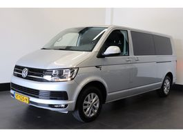 gesloten bestelwagen Volkswagen Transporter 2.0 TDI L2H1 Dubbel Cabine - Airco - Cruise - Navi - € 16.950,- Ex. 2016