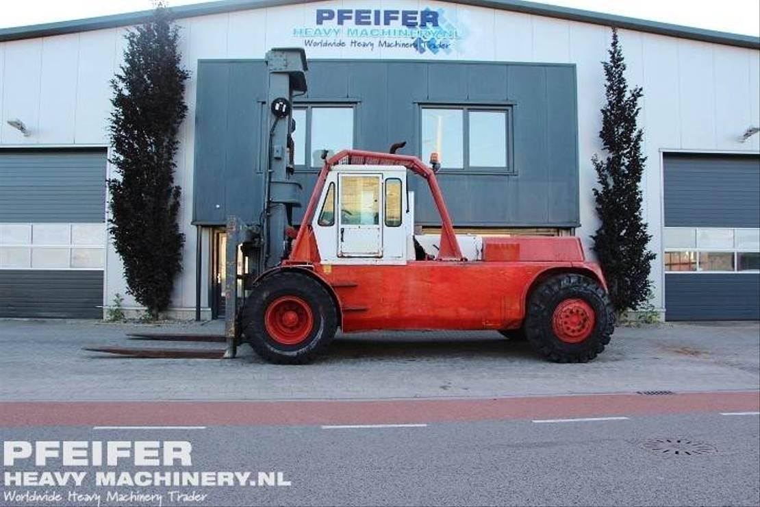vorkheftruck Caterpillar AH60 27t, Duplex 6000mm, Freelift 2900mm, Side-Shi 1977