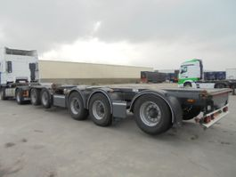container chassis oplegger D-TEC CT-60-05D 2006