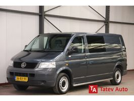 gesloten bestelwagen Volkswagen Transporter 1.9 TDI 105PK DUBBEL CABINE L2H1 AIRCO TREKHAAK 2006