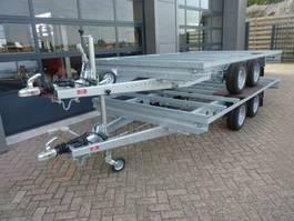 open laadbak aanhangwagen Henra chassis nieuw geschikt voor opbouw met blanco kenteken