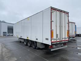 gesloten opbouw oplegger Ekeri Ekeri DRY freight semi-trailer curtain roof 2014
