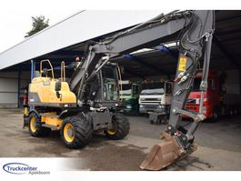 wielgraafmachine Volvo EW160D, Quickcoupler, Extra fuctions, Holland machine 2014