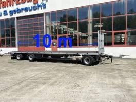 platte aanhanger vrachtwagen Möslein T 3 Plato 10 m  3 Achs Jumbo- Plato- Anhänger, 10 m Ladeflächenlänge 2019