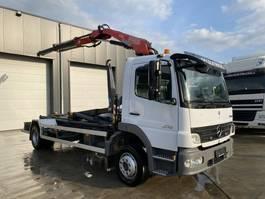 containersysteem vrachtwagen Mercedes-Benz Atego 1218 HAAKSYSTEEM+FASSI F80 2006