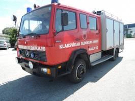 leger vrachtwagen Mercedes-Benz RIGTIG FIN BRANDBIL MED UDSTYR 1120 1986