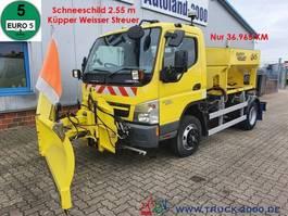overige vrachtwagens Mitsubishi Canter 7C15 Winterdienst Streuer + Schneeschild 2012