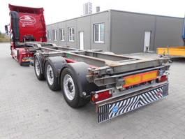 container chassis oplegger Schmitz Cargobull SCS Conteiner chassis, fur alle type Conteiners + HI-CUBE 2007