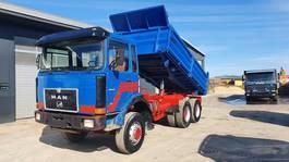 kipper vrachtwagen > 7.5 t MAN Andere 26.291 6x6 1986