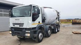 betonmixer vrachtwagen Iveco EuroTrakker AD340T38 Klima 2008