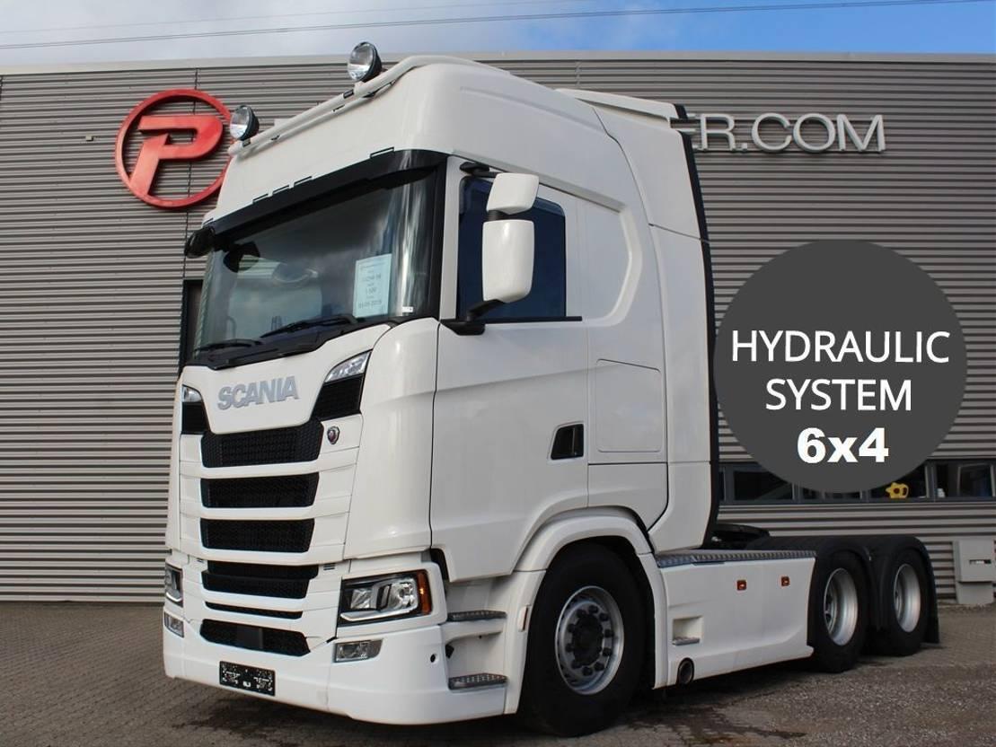 standaard trekker Scania S500 6x4 Tandem 3150mm new hydr. system 2019
