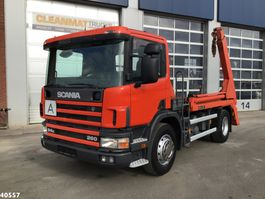 containersysteem vrachtwagen Scania P 260 Manual 1999
