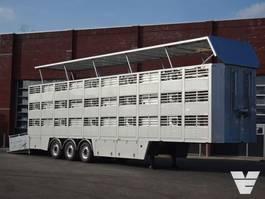 vee oplegger Van Hool Bekkers 3 Stock Livestock trailer NEW - Alloy wheels 2020