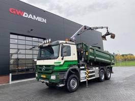 kipper vrachtwagen > 7.5 t Mercedes-Benz Actros 3341 AK 6x6 Kipper / Kraan Euro 5 2010